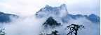 Mount Huashan Embraced by Clouds